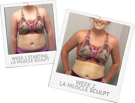 Sculpt Before and After