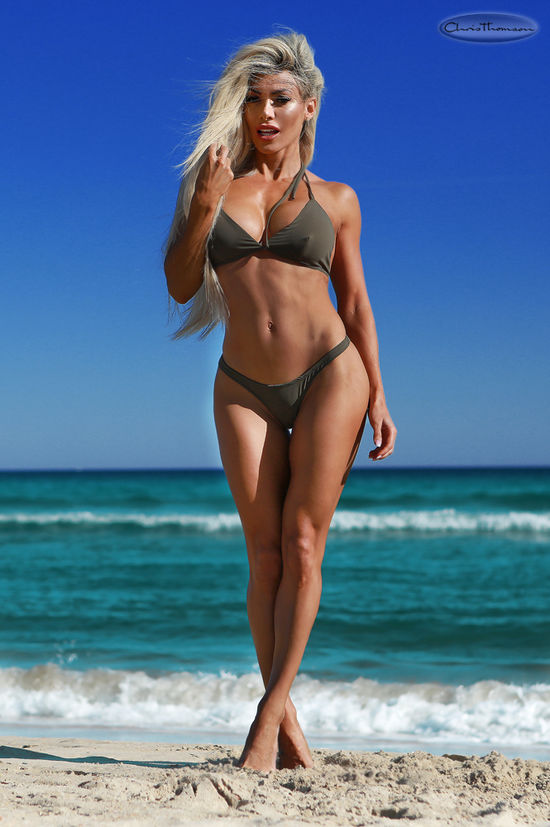 Fitness Star Danni Levy