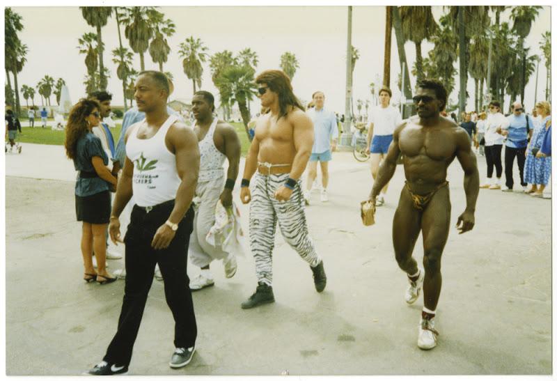 Muscle Beach classic photos