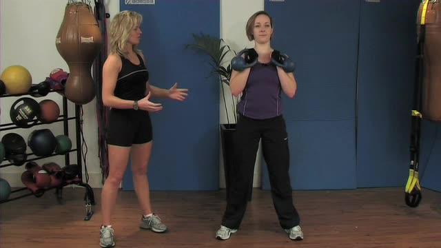 Kettlebells Training Advanced