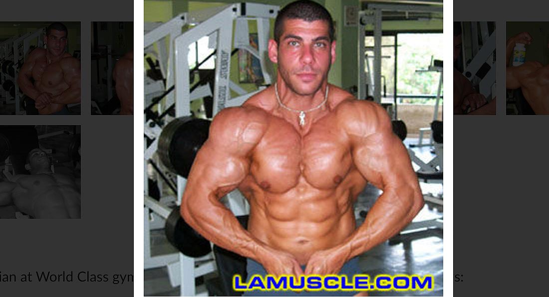 Alex Topalian, Mr Cyprus Photoshoot