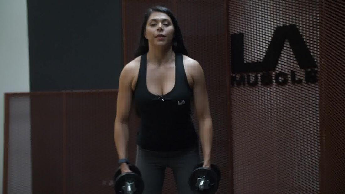 Fitness Model Alexa Jordan