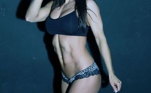 LA Muscle athlete Rebecca Hamilton speaks to the Daily Mail on how she transformed her body