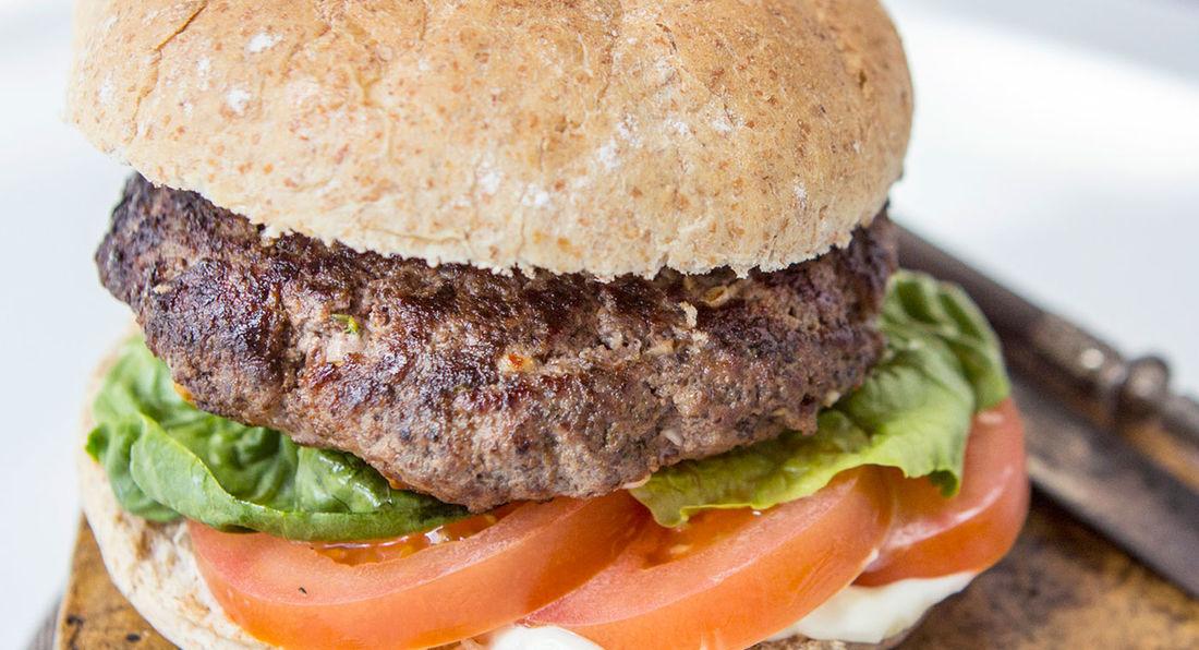 LA Muscle Monster Burgers
