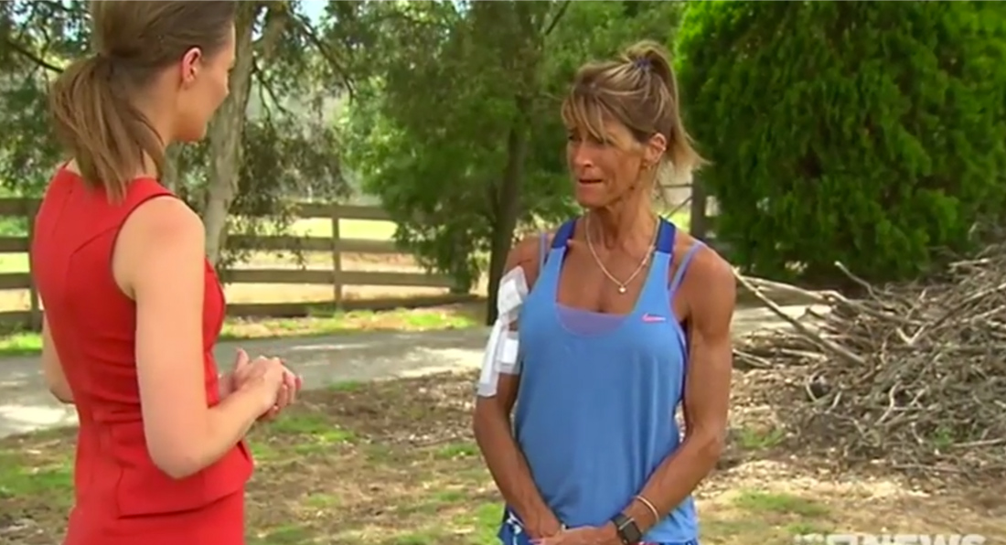 CRAZED kangaroo RIPS UP Bodybuilding Champion