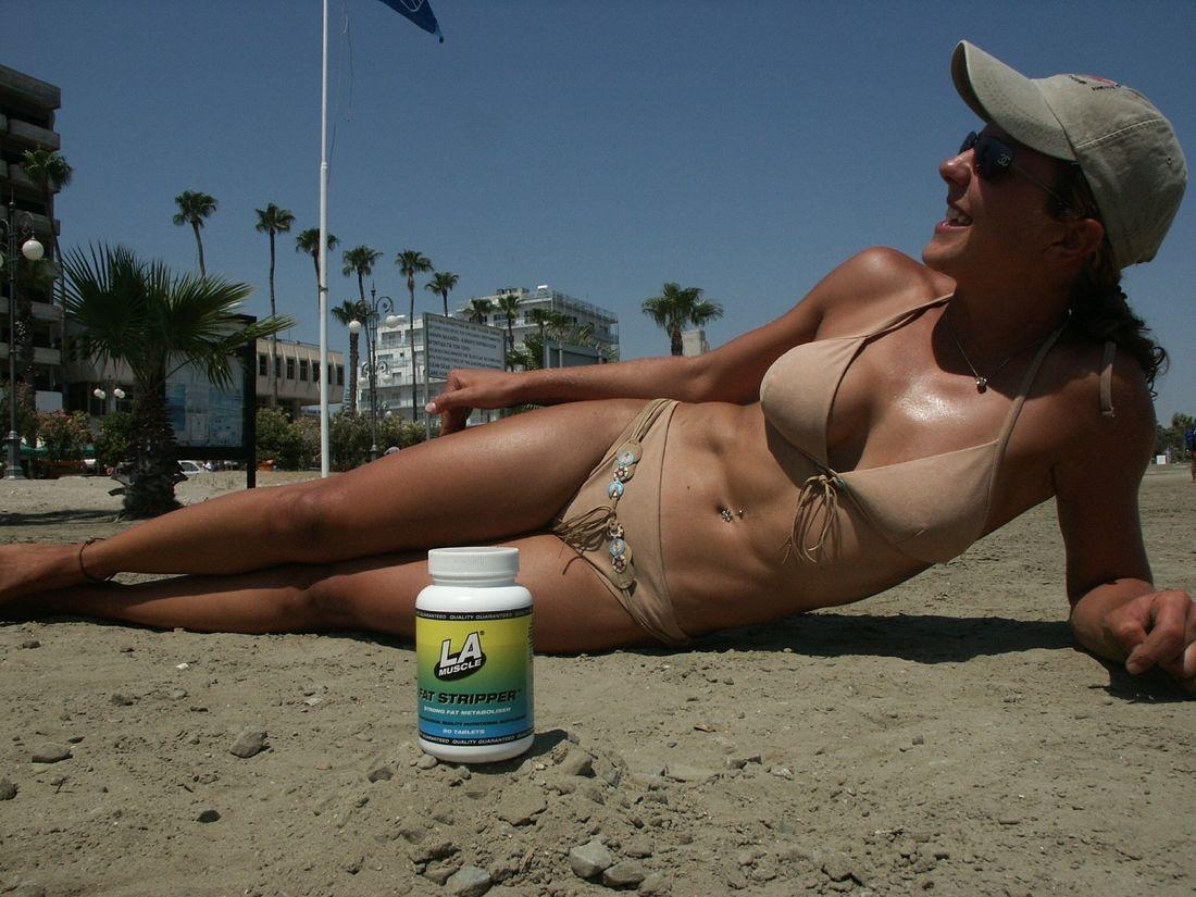 Girl on the beach 2002
