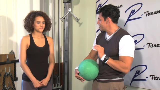 Celebrity Trainer -Nathalie Emmanuel