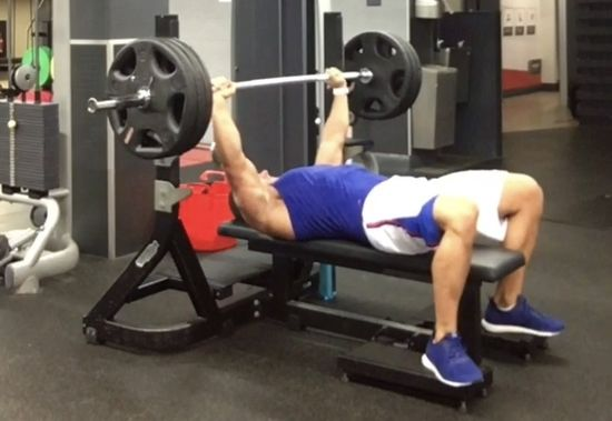 Alistair Richardson Chest Workout