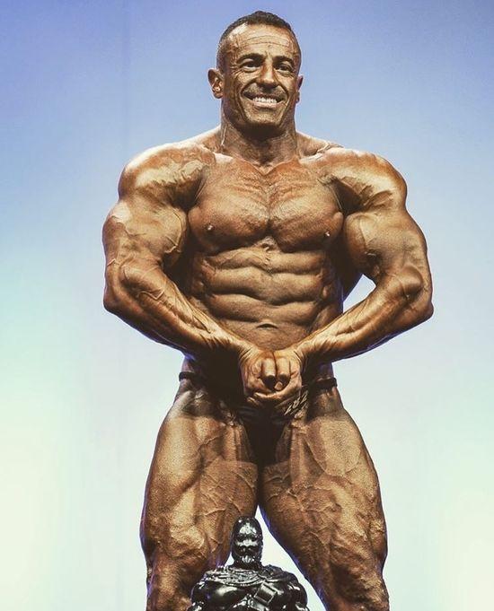 Bodybuilder Chris Jones
