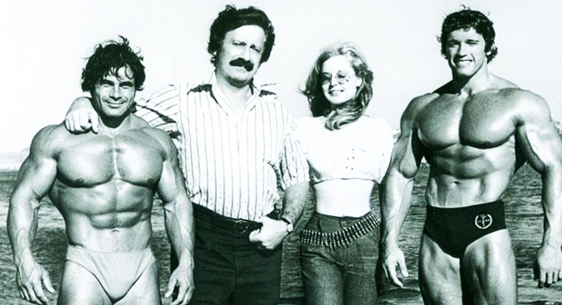 Classic forgotten photos: Muscle Beach