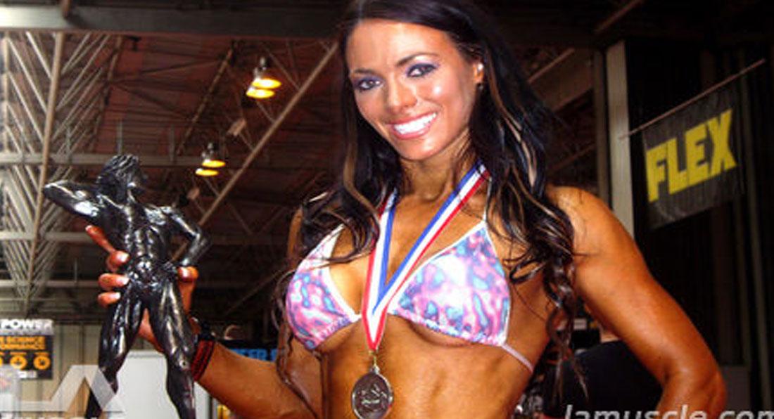Gorgeous Danni Levy Wins Fitness Bikini Contest