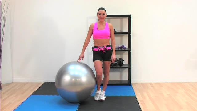 Danni-Swiss Ball Workout