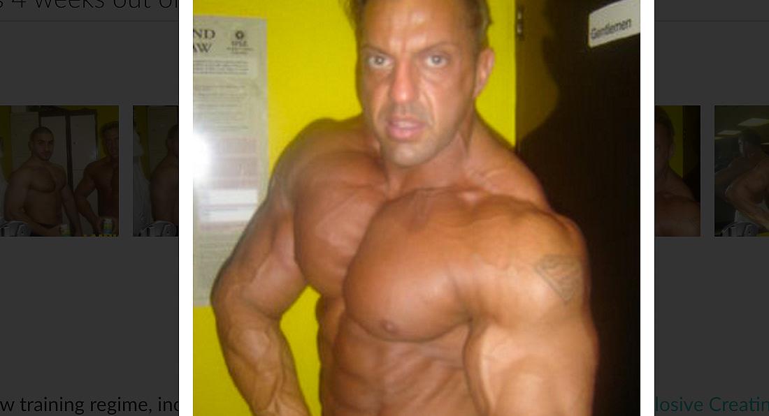 Dr Zak Pallikaros, 4 weeks out