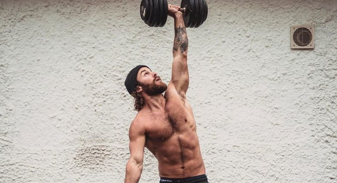 Build Size & Burn Calories With This Hardcore Dumbbell Challenge