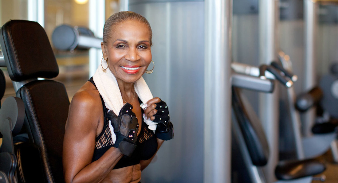 Meet the world's OLDEST female bodybuilder!