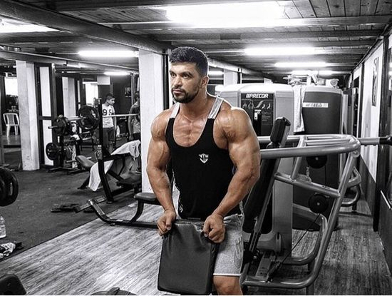 International Bodybuilding Champion Eslam Kanawati