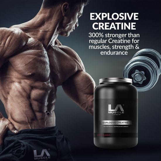 Explosive Creatine