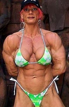 Female bodybuilder, female bodybuilding photos