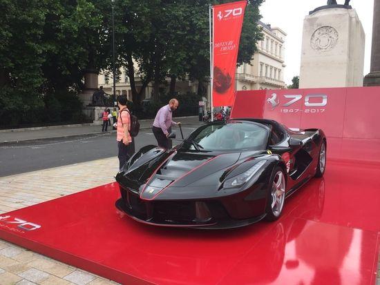 Ferrari's 70th Anniversary Eveny