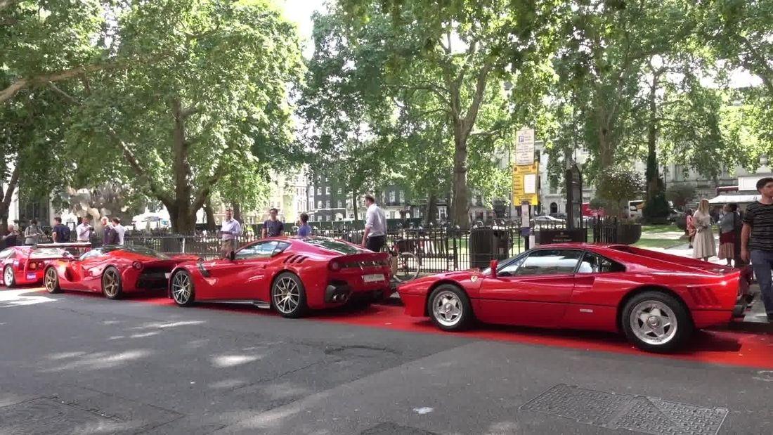 New Ferrari Showroom in the heart of London