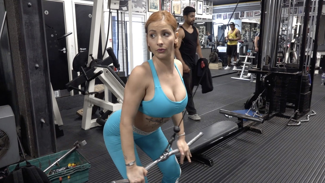 Fitness champion Fitty Mitty trains back