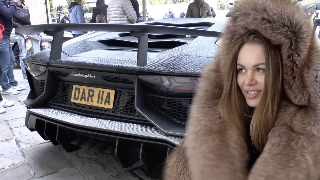 OMG! Who is the girl with the Diamond Lamborghini?