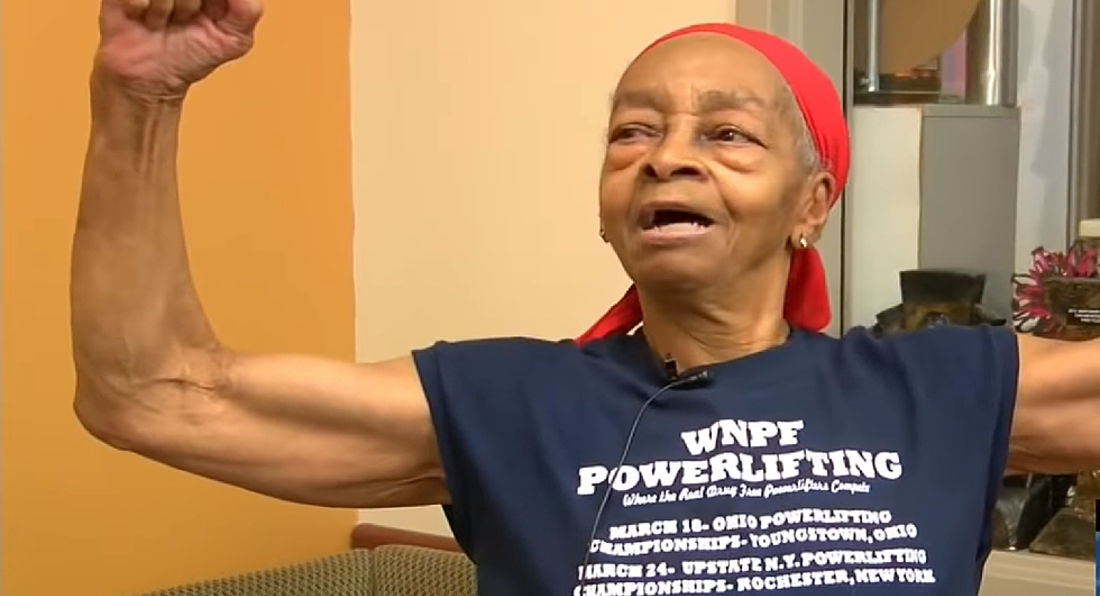 Bodybuilder Grandmother Beats Up Burglar