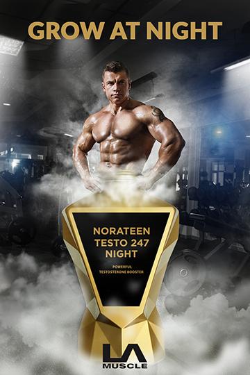 Testosterone at night