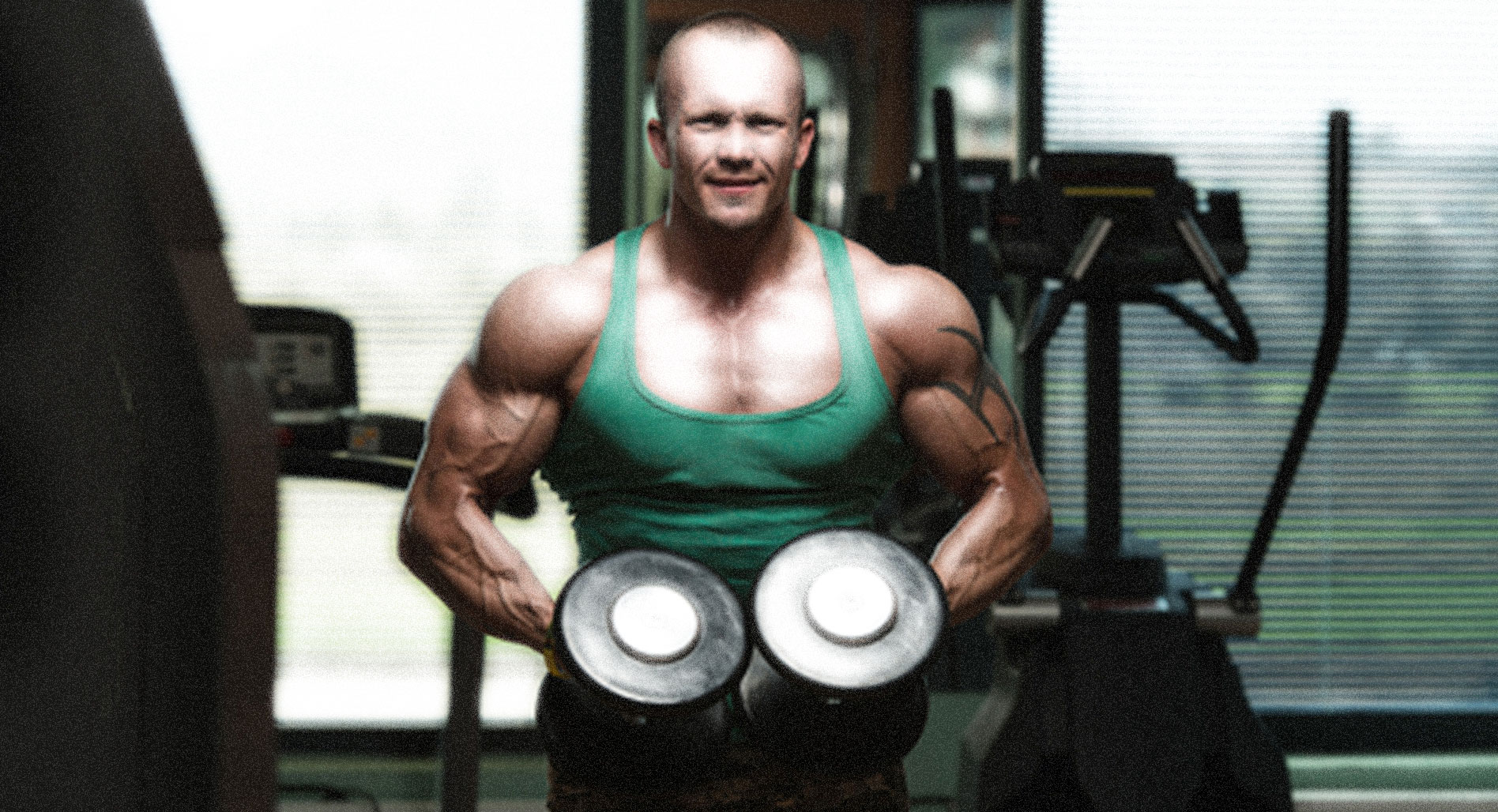 Build muscles by exhausting opposing muscles