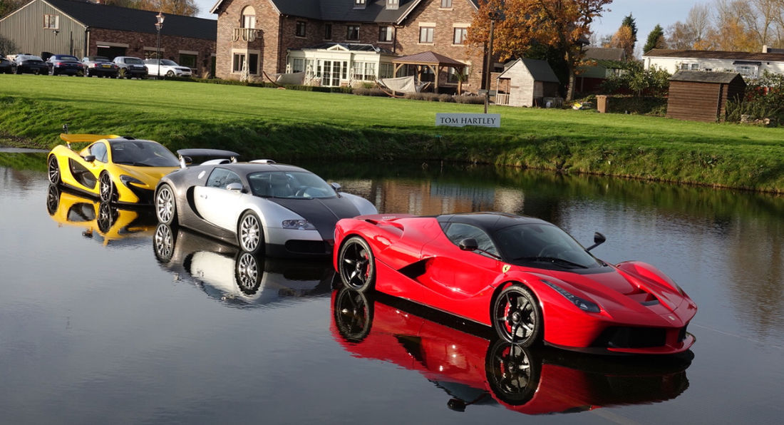 Hypercar Heaven at Tom Hartley!