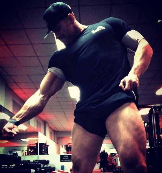 Bodybuilder Dave Leather