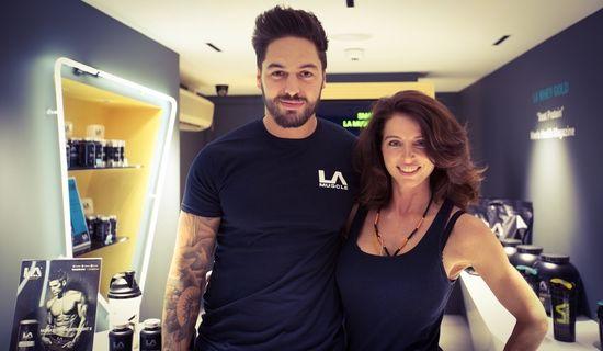 Mario Falcone at LA Muscle