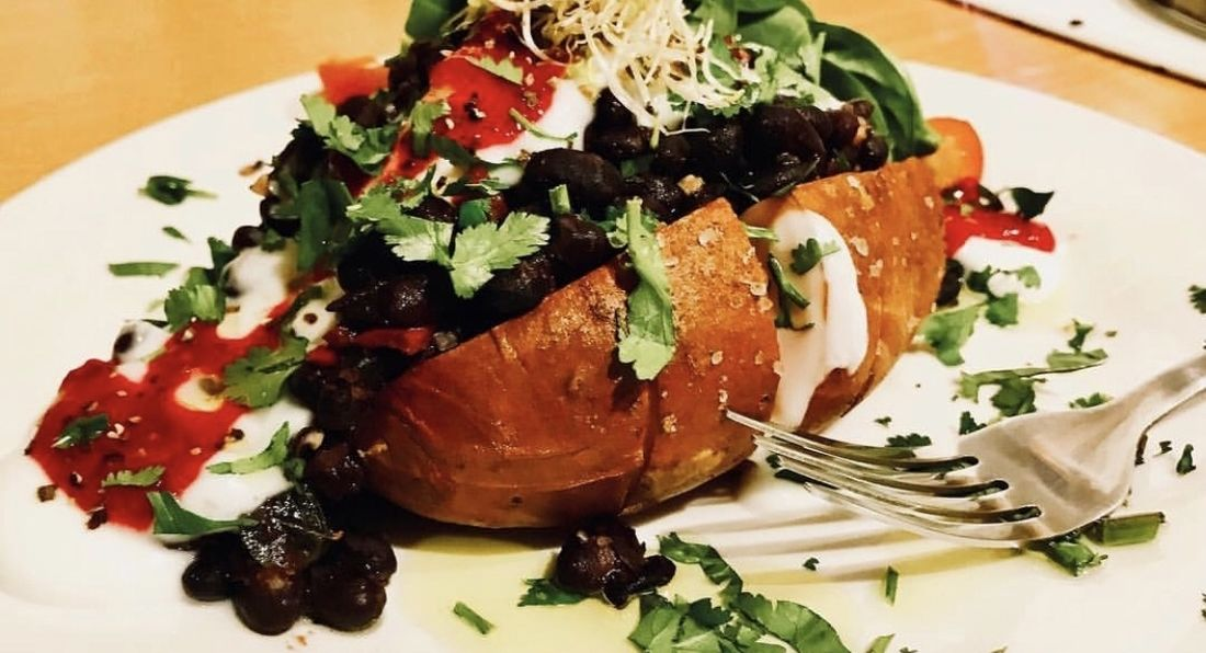 Power Packed Baked Sweet Potatoes