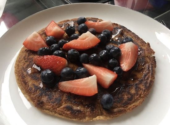 Muscle Building Protein Pancakes