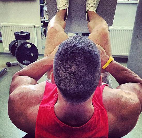 Zilvinas Nacas Leg Workout