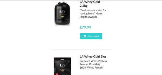 LA Muscle Proteins