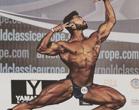 Bodybuilder Gareb Navas