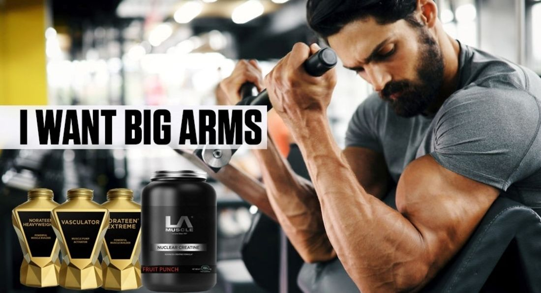 New Bundle To Get Bigger Arms Fast