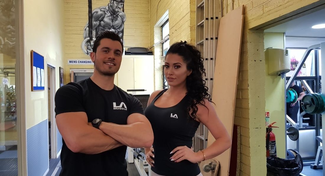 LA Muscle TV Filming Top Calendar Model and Actor