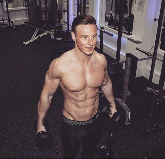 Personal trainer John Clarke