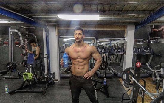 Pro Bodybuilder Eslam Kanawati