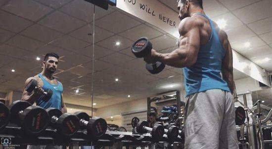 International Bodybuilder Kanawati Eslam