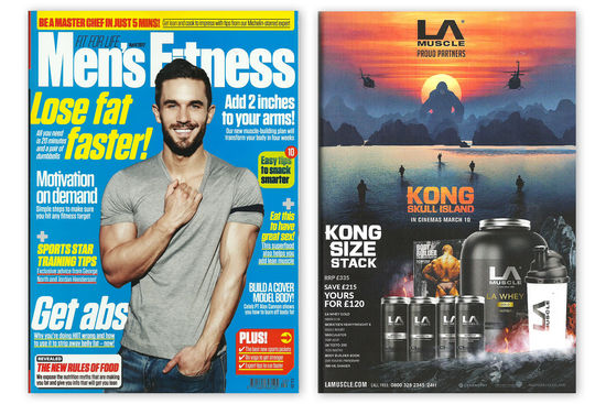 Kong: Skull Island feature in Men's Fitness Magazine