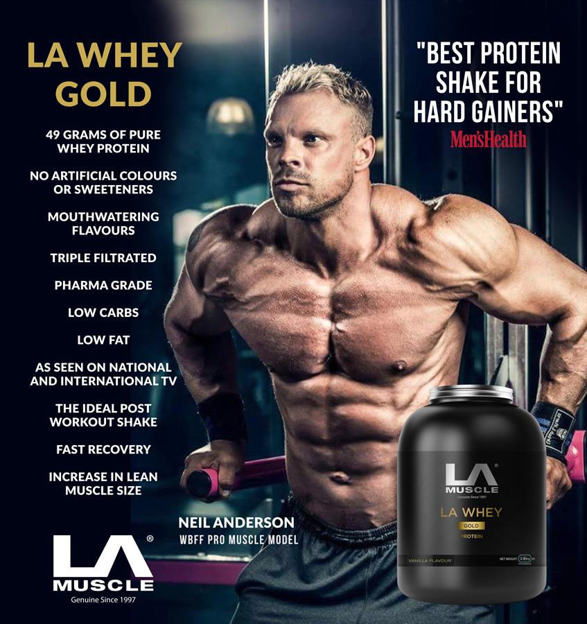 LA Whey Protein Shake, best supplement