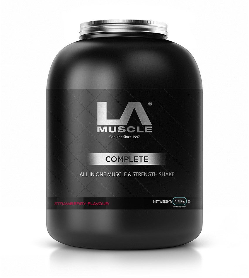 Complete all in one protein muscle & weight loss shake by LA Muscle