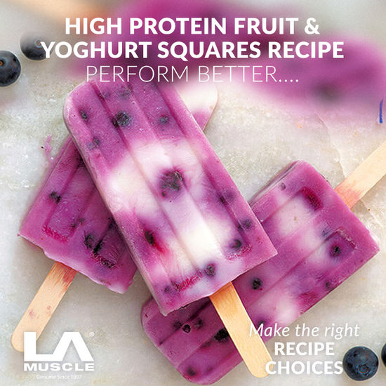 Refreshing protein ice-lollies