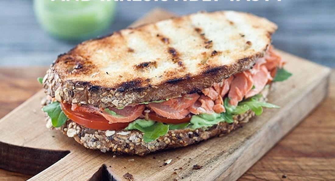 Post Workout Salmon Sandwiches