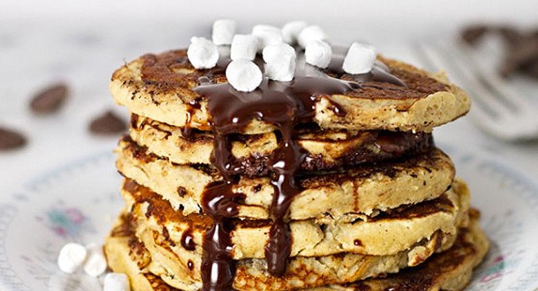 Smores LA Whey Protein Pancakes
