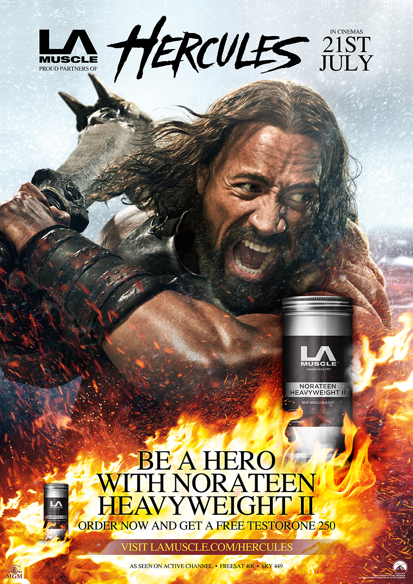 Official Partners of Hercules the movie