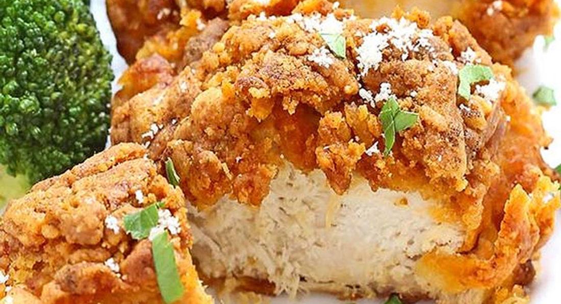 Super Tasting Breaded Parmesan Chicken